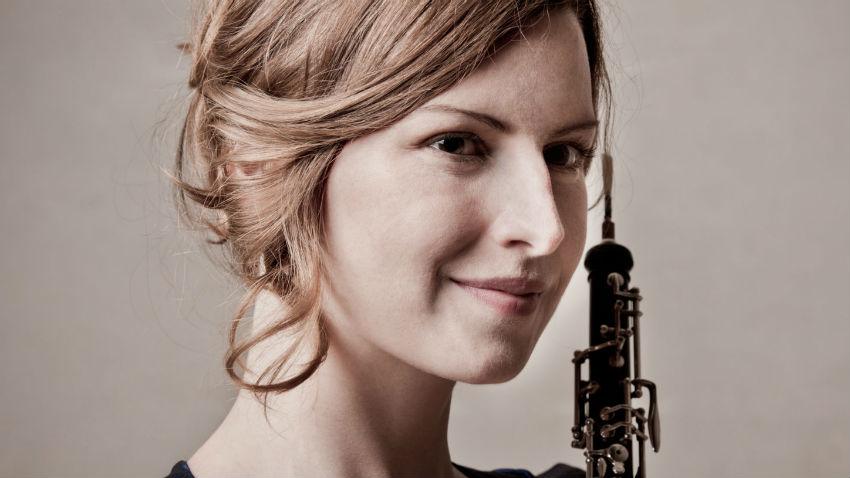 Céline Moinet gehört zu den führenden Künstlerinnen auf der Oboe und kommt als Gastsolistin in die Innerschweiz. - Foto: François Sechet