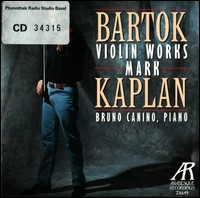 "Bartók ""Violin Works"""