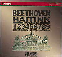 Beethoven, Symphonies 1-9, Concertgebouw Orchestra Amsterdam, Bernard Haitink