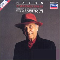"Haydn ""Symphonies 93 & 99"", London Philharmonic Orchestra, Sir Georg Solti"