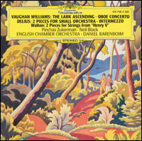 "Ralph Vaughan Williams ""The lark ascending / Oboe Concerto..."""