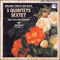 "J.Ch. Bach ""3 Quintets & Sextet"". The English Concert"