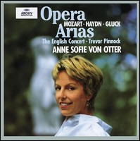 Opera Arias. Anne Sofie von Otter, The English Concert, Trevor Pinnock