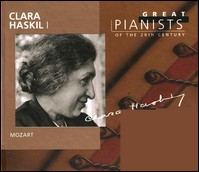 Mozart. Clara Haskil I (Great Pianists of the Century)