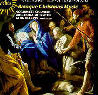 Baroque Christmas Music, Northwest Chamber Orchestra of Seattle, Alun Francis