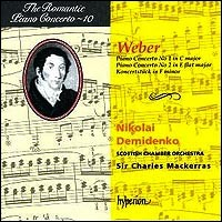 The Romantic Piano Concerto Vol. 10 - Carl Maria von Weber