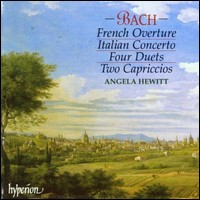 "Angela Hewitt, ""Bach - French Overture / Italian Concerto..."""