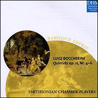 Luigi Boccherini, String Quintets op. 11,4 - 6. Smithsonian Chamber Players