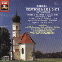 "Franz Schubert ""Deutsche Messe D. 872"""