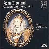 "John Dowland ""Complete Lute Works Vol. 3"""