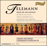 "Georg Philipp Telemann ""Music of the Nations"""