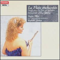 La flûte enchantée - French Pieces for Flute and Orchestra. Susan Milan, City of London Sinfonia, Richard Hickox