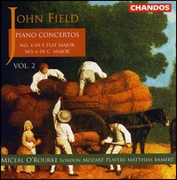 "John Field ""Piano Concertos Vol. 2"""