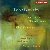 "Tchaikovsky ""Suite No. 4 Mozartiana / The Seasons"""
