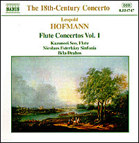 "Leopold Hofmann ""The 18th-Century Concerto - Flute Concertos  Vol. 1"""