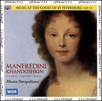 Music at the Court of St. Petersburg Vol. VI