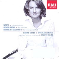 "Weber, Mendelssohn, Baermann ""Works for Clarinet"", Sabine Meyer, Wolfgang Meyer"