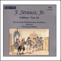 "Johann Strauss Jr. ""Edition Vol. 44"""