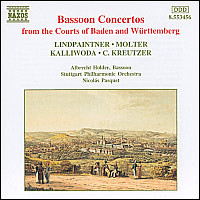 Bassoon Concertos from the Courts of Baden and Württemberg