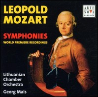 "Leopold Mozart ""Symphonies"", Lithuanian Chamber Orchestra Vilnius, Georg Mais"