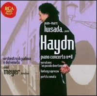 "Joseph Haydn ""Piano Concerto No 11, Sonata G Major..."". Jean-Marc Luisada, piano"