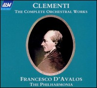 "Muzio Clementi ""The Complete Orchestral Works"". The Philharmonia, Francesco d'Avalos"