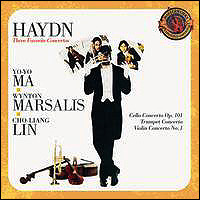 "Joseph Haydn ""Three Favorite Concertos"""