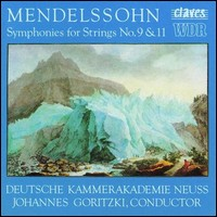 "Mendelssohn ""Symphonies for Strings No. 9 & 11"""