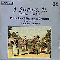 "Johann Strauss Jr. ""Edition Vol. 9"""