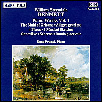 "William Sterndale Bennett ""Piano Works Vol. 1"""