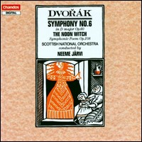 "Antonin Dvorák ""Symphony No. 6 / The Noon Witch"""