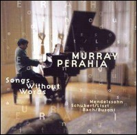 Murray Perahia - Songs Without Words
