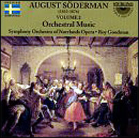 "August Söderman ""Orchestral Music Vol. 2"""