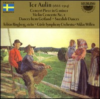 "Tor Aulin ""Concert Piece in G minor / Violin Concerto No. 2 / Dances from Gotland / Swedish Dances"""
