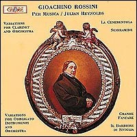 "Gioacchino Rossini ""Variations / Cenerentola..."""