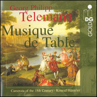 "Georg Philipp Telemann ""Musique de table"""