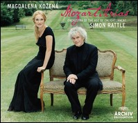 "Magdalena Kozená ""Mozart Arias"". Orchestra of the Age of Enlightenment, Simon Rattle"