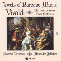 "Vivaldi ""The Four Seasons, Three Sinfonias"""
