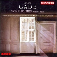 Niels W. Gade, Symphonies 1&5. Danish National Orchestra/DR, Christopher Hogwood