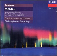 "Smetana ""Moldau, Ouvertures and Dances"". The Cleveland Orchestra, Christoph Dohnányi"