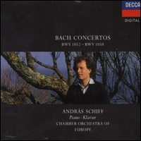 "Bach ""Concertos BWV 1052-1058"". András Schiff, Chamber Orchestra of Europe"