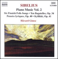 "Sibelius ""Piano Music, Vol. 2"", Havard Gimse"