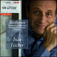 "Ludwig van Beethoven, Symphony No.4 & No.6 ""Pastoral"". Budapest Festival Orchestra, Ivan Fischer"