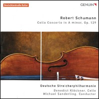 Cello Concerto. Deutsche Streicherphilharmonie, Benedict Klöckner, Cello, Michael Sanderling, Leitung