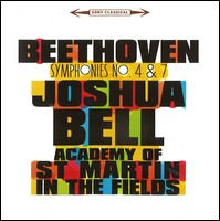 Beethoven Symphonies 4 & 7. Joshua Bell, Academy of St Martin in the Fields