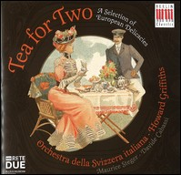 """Tea for Two"", Orchestra della Svizzera Italiana, Howard Griffiths, Maurice Steger, Davide Cabassi"