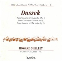 Dussek - Piano Concertos. Howard Shelley, Ulster Orchestra