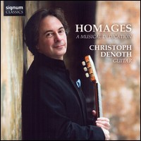 """Homages - A Musical Dedication"", Christoph Denoth, Gitarre"