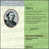 Herz - Piano Concerto No. 2 and other Works For Piano & Orchestra. Tasmanian Symphony Orchestra, Shelley