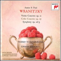 A.&P. Wranitzky, Violin Concerto, Cello Concerto & Symphony. Veriko Tchumburidze, Chiara Enderle, Münchener Kammerorchester, Howard Griffiths